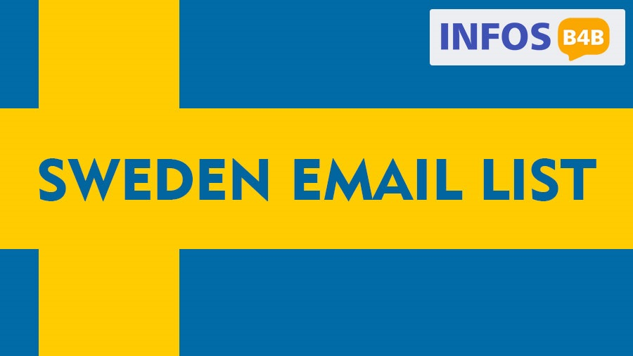 Sweden Email List